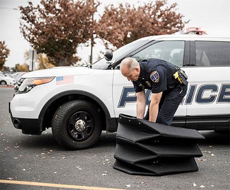 Origami Police Shield