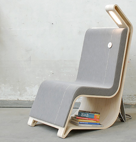 Reading Furniture by Remi Van Oers