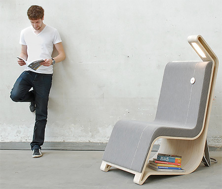 Remi Van Oers Reading Furniture