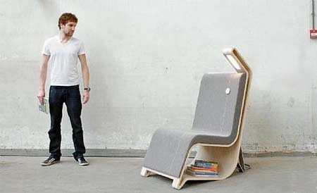 Remi Van Oers Reading Chair