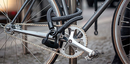 Rope Bicycle Lock