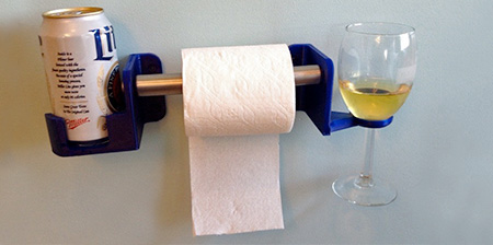 Toilet Beverage Holder