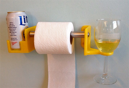 Toilet Paper Beverage Holder