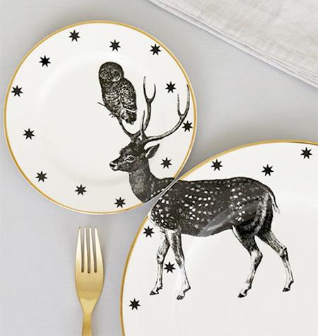 Yvonne Ellen Animal Plates