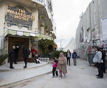 Banksy Hotel Israel