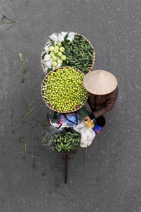 Bicycle Street Vendor
