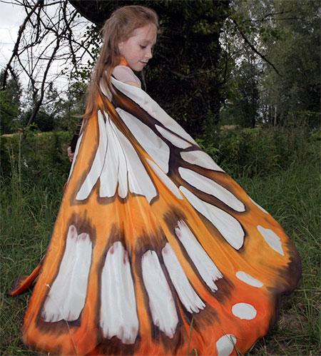 Dorota Drzewiecka Butterfly Wing Scarf