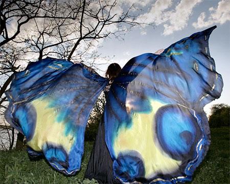 Dorota Drzewiecka Butterfly Scarves