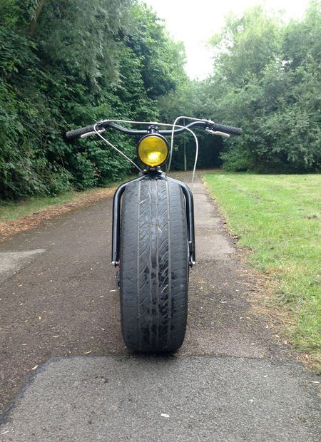 Bicycle on Car Tires