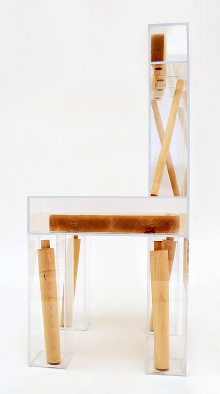 Exploded Chair by Joyce Lin