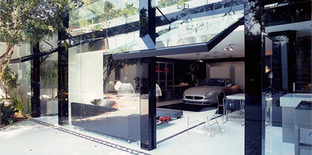 Glass Garage