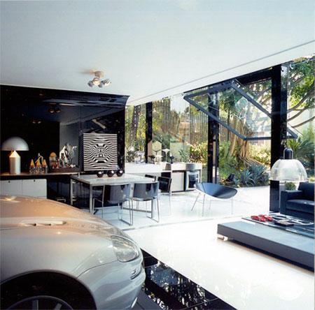 Modern Garage in Brazil