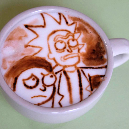 Michael Breach Coffee Art