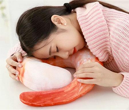 Japanese Shrimp Neck Pillow