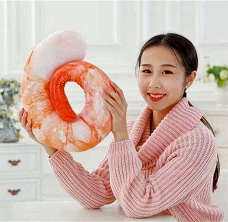 Shrimp Neck Pillow Japan