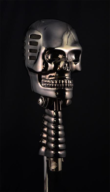 Skull Microfone