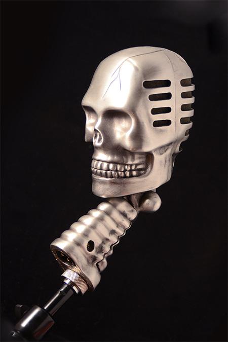 Peter Erickson Skull Microphone