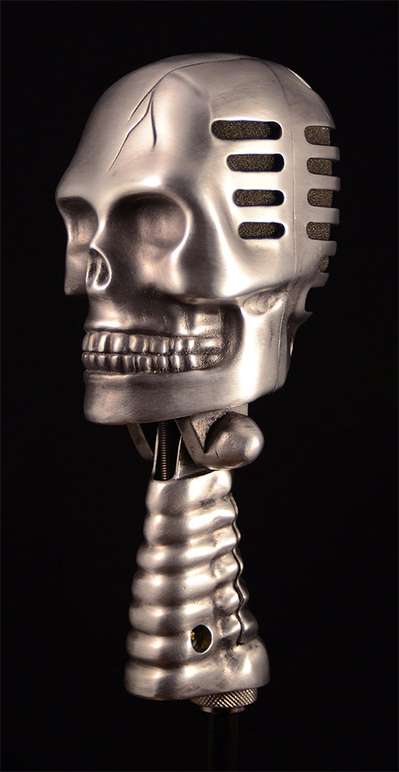 Camping Beds For Tents >> Skull Microphone