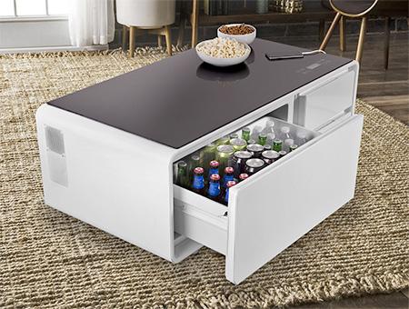 tisch f r k hlschrank k hlschrank mit gefrierfach. Black Bedroom Furniture Sets. Home Design Ideas