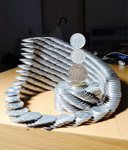 Japanese Stacked Money
