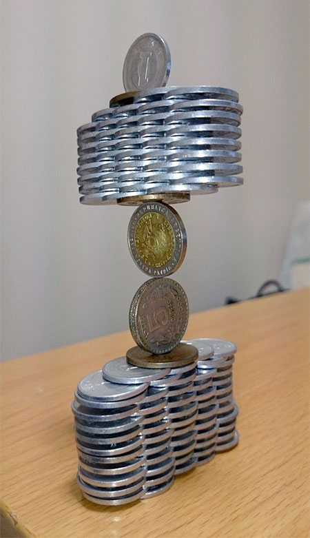 Japanese Balanced Coin
