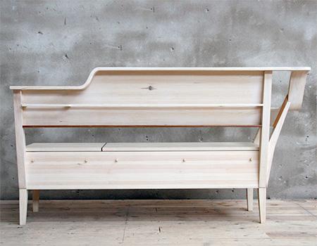 Emma Nilsson Johanna Westin Lisa Frode Storage Bench