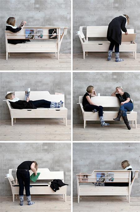Storage Sofa