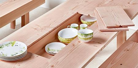 Hidden Storage Table