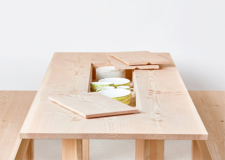 Max Lamb Hidden Storage Table