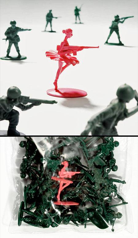 Ballerina Toy Soldier