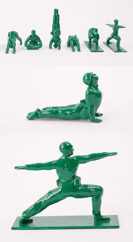 Yoga Army Men