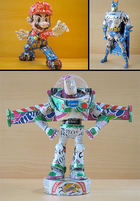 Recycled Can Toys