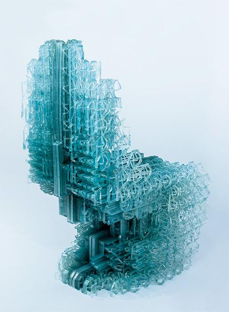 Manuel Jimenez Garcia 3D Printed Chair