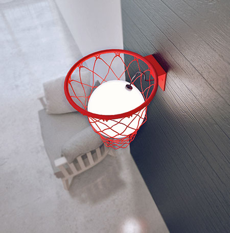 Basketball Lamp