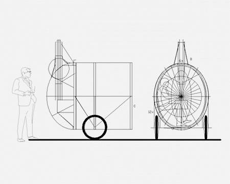 H3T Architects Bike Sauna