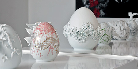 Ceramic Easter Eggs