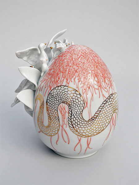Porcelain Eggs