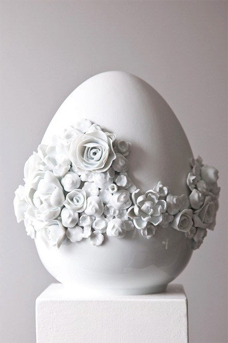 Porcelain Easter Egg