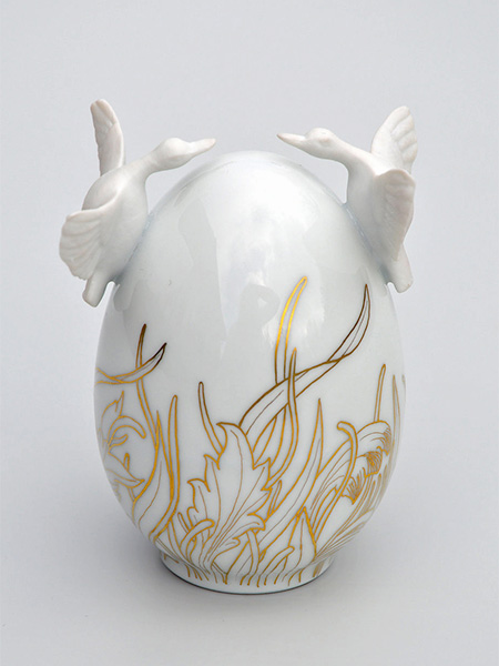 Juliette Clovis Porcelain Eggs