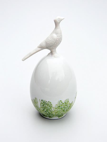Juliette Clovis Ceramic Easter Egg
