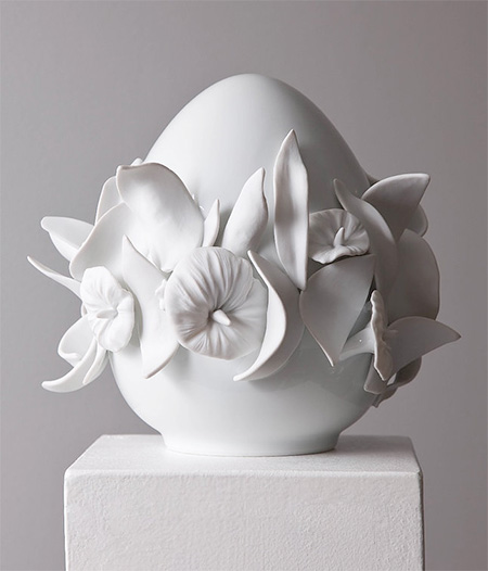 Juliette Clovis Ceramic Egg