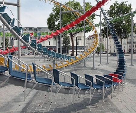 Baptiste Debombourg Roller Coaster