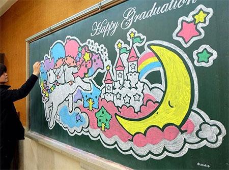 Blackboard Drawing