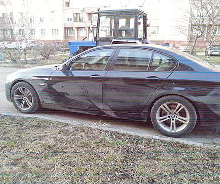 Nikita Golubev Dirty Car Art