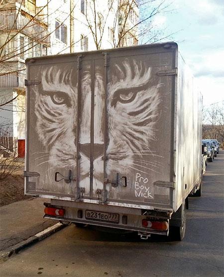 Nikita Golubev Dirty Truck Art