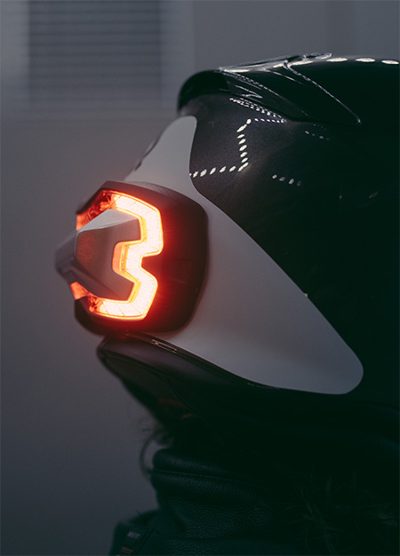 Helmet Safety Light
