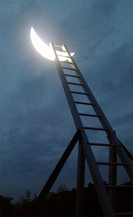 Leonid Tishkov Moon Ladder