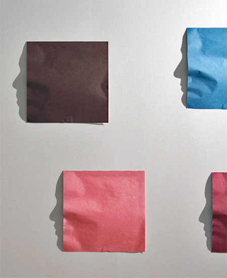 Origami Shadow Faces