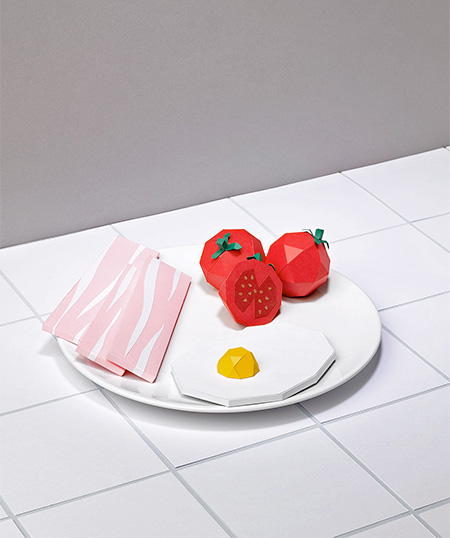 Alexis Facca Paper Food