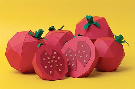 Paper Tomatos